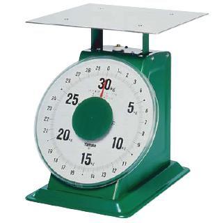 送料無料 ハカリ ヤマト 上皿自動はかり 「特大型」 平皿付 SD-50 50kg (7-0569-0902)