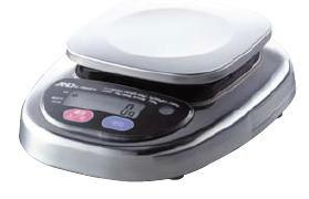 送料無料 ハカリ A&D デジタル防水はかり HL-3000WP 3,000g(7-0564-0401)