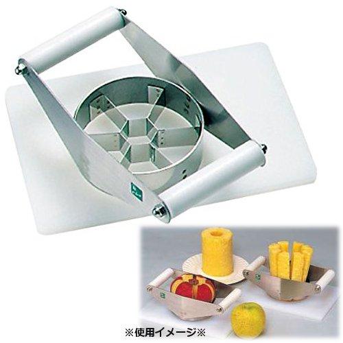 アップルカッター(分割器) AP-6 6分割用 りんご・梨類のフルーツの芯取り&等分割に! (7-0531-0301)
