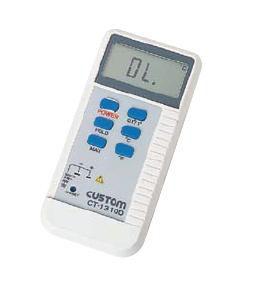 【測定範囲:-50~+1,300℃】CUSTOM(カスタム) デジタル温度計 CT-1310D (6-0548-0301)