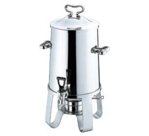 送料無料 ビュッフェ/バイキング用品 SW18-8ステンレス コーヒーアーン 1.5ガロン 6.5L(EBM19-1)(1041-11)