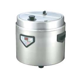 送料無料 ビュッフェ/バイキング用品 蒸気熱保温方式 30~60杯 エバーホット マイコン式 スープウォーマー NMW-088(EBM19-1)(674-03)