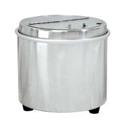 送料無料 ビュッフェ/バイキング用品 蒸気熱保温方式 60~80杯 エバーホット オールステンレス スープウォーマー NL-16S型 16L(EBM18-1)(644-04)