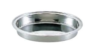 送料無料 ビュッフェ/バイキング用品 UK18-8ステンレス ユニット 小判 湯煎 下皿 28インチ(EBM19-1)(1039-01)