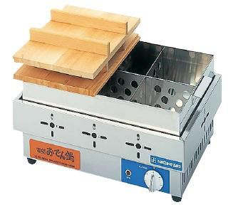 おでん鍋 送料無料 安定した保温が自由自在!いつでもアツアツのおでん♪ 電気おでん鍋 EOK-6 6ッ切 (火力調節ダイヤル6段階式) (7-0773-0501)