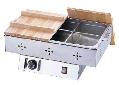 おでん鍋 送料無料 安定した保温が自由自在!いつでもアツアツのおでん♪ TKG 電気おでん鍋 6ッ切 (7-0773-0201)