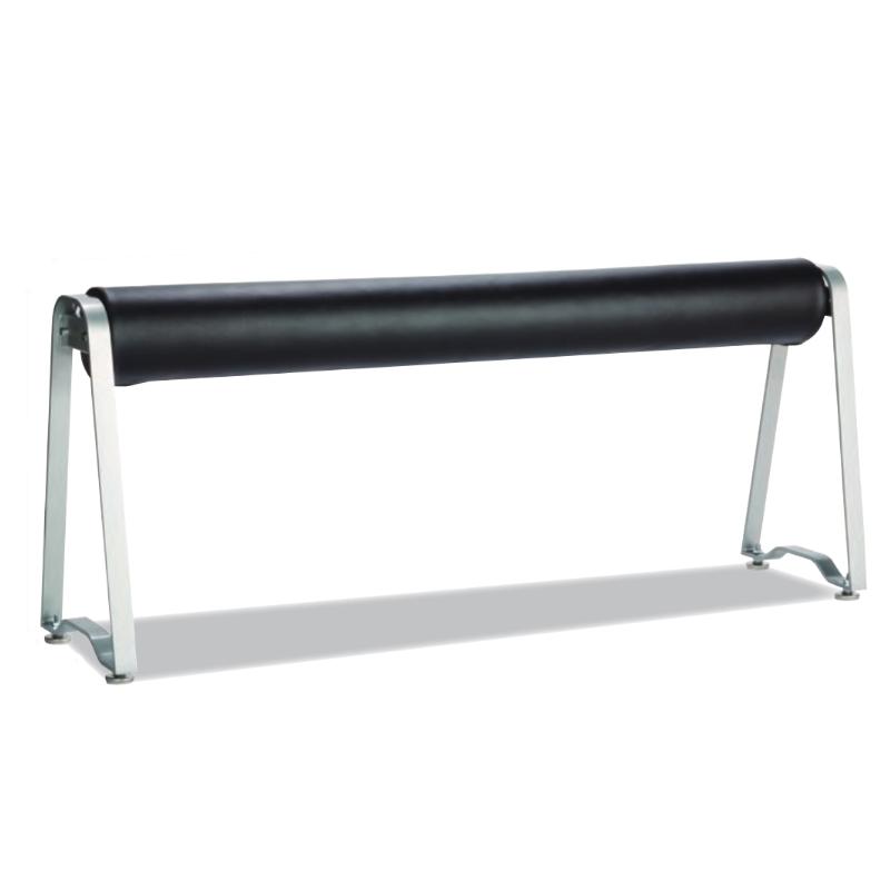 コンパクト設計で省スペース化を実現。軽く腰をかけられる高い座面で、奥行きを取らずに利用できます!座り心地も優しいクッションタイプ。 ※お客様組立品※ ※代引不可・法人様限定・送料無料※ ひといきクッションベンチ (テラモト)[BC-308-100-0] ベンチ クッションタイプ 腰掛け 屋内用 省スペース シンプル