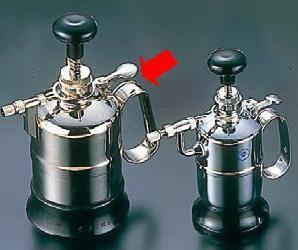 ! スプレー容器・噴霧器 クロームメッキ噴霧器 防水型 大型(1000cc) (7-1454-1603)