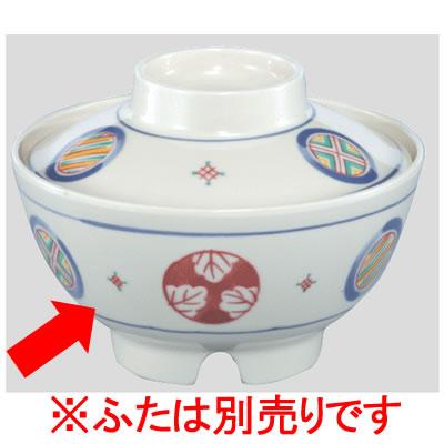 送料無料 Daiwa プラスチック食器 メラミン製 業務用 病院 施設 10個セット/10個以上端数注文可 保温食器飯碗(身) 手毬紋(Φ135×H72mm・510ml) (台和)[BH-11-TE]