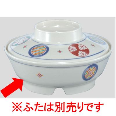 送料無料 Daiwa|プラスチック食器|メラミン製|業務用|病院|施設 10個セット/10個以上端数注文可 保温食器主菜碗(身) 手毬紋(Φ163×H59mm・510ml) (台和)[BH-31-TE]