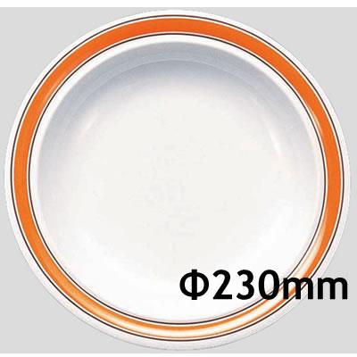 格安即決 送料無料 送料無料 Daiwa|プラスチック食器|メラミン製|業務用食器|食堂|飲食店 10個セット スープ皿/10個以上端数注文可 スープ皿 オレンジライン(Φ230×H38mm) (台和)[CL-5-O] (台和)[CL-5-O], Rack World:4b1653d8 --- eagrafica.com.br