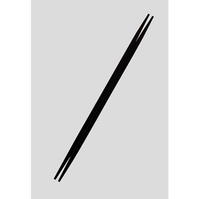 送料無料 Daiwa|業務用箸|プラスチック製|飲食店|学食|社員食堂 50膳セット 利休箸(りきゅうばし) 黒(24.0cm) (台和)[ER-240-BK]