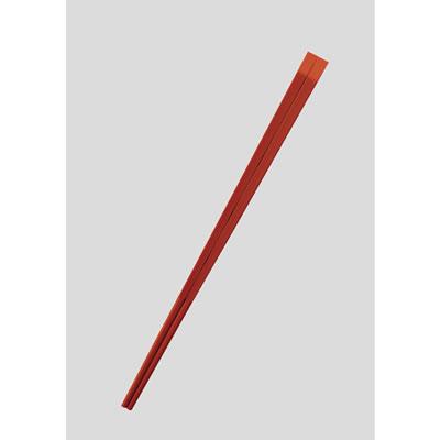 送料無料 Daiwa|業務用箸|プラスチック製|飲食店|学食|社員食堂 50膳セット 天削箸(てんそげばし) 朱(24.0cm) (台和)[ET-240-R]