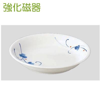 Daiwa|強化磁器食器|和食器|業務用食器|飲食店|カフェ|施設 10個セット/10個以上端数注文可 菜皿 古染草(こそめくさ)(Φ165×H28mm) (台和)[HC-56-COK]