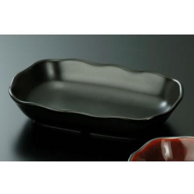 送料無料 Daiwa|強化磁器食器|業務用食器|飲食店|カフェ|施設 10個セット/10個以上端数注文可 グラタン皿 黒マット(172×110×H34mm) (台和)[HC-87-BK]