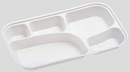 送料無料 Daiwa|弁当箱用仕切|使い捨て|宅配容器|業務用 5つ仕切 M-10用仕切 (入数:2,000) (台和)[M-10-1]