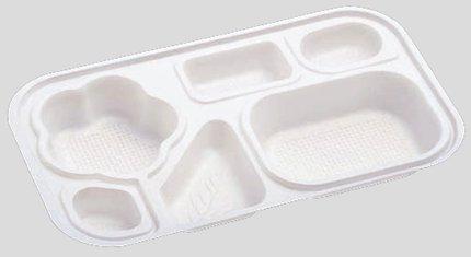 【送料無料】【Daiwa|弁当箱用仕切|使い捨て|宅配容器|業務用】【6つ仕切】M-10用仕切 (入数:2,000) (台和)[M-10-4]