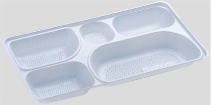 送料無料 Daiwa|弁当箱用仕切|使い捨て|宅配容器|業務用 5つ仕切 M-2000用仕切 (入数:2,400) (台和)[M-2000-1]