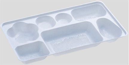 送料無料 Daiwa|弁当箱用仕切|使い捨て|宅配容器|業務用 7つ仕切 M-2000用仕切 (入数:2,400) (台和)[M-2000-3]