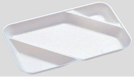 送料無料 Daiwa|弁当箱用仕切|使い捨て|宅配容器|業務用 3つ仕切 M-3用仕切 (入数:3,600) (台和)[M-3-2]