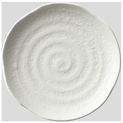 Daiwa|プラスチック食器|メラミン製|業務用食器|社員食堂|学食|飲食店 10個セット/10個以上端数注文可 和皿・中 コヒキ(Φ189×H31mm) (台和)[MD-13-KH]