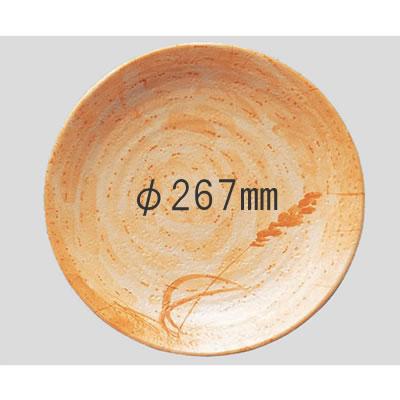 【送料無料】【Daiwa|プラスチック食器|メラミン製|業務用食器|社員食堂|学食|飲食店】【10個セット/10個以上端数注文可】高台和皿・27cm 秋草(Φ267×H41mm) (台和)[MD-44-A]