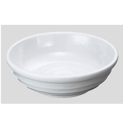 送料無料 Daiwa プラスチック食器 メラミン製 陶器調業務用食器 社員食堂 学食 飲食店 10個セット/10個以上端数注文可 煮物鉢 白(Φ180×H55mm・700ml) (台和)[MD-65-W]