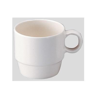 (台和) (Φ73×97×H69mm・200ml) 10個セット/10個以上端数注文可 Daiwa|プラスチック食器|メラミン製|業務用|無地食器|食堂|飲食店 コーヒーカップ ホワイト [MN-20]