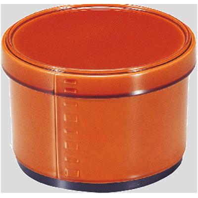 送料無料 Daiwa プラスチック食器 耐熱ABS製 業務用食器 食器洗浄機対応 10個セット/10個以上端数注文可 メンパ飯器 春慶内黒塗(Φ118×H81mm) (台和)[ND-218]