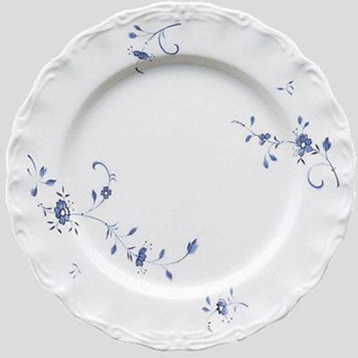 送料無料 Daiwa|プラスチック食器|メラミン製|業務用食器|食堂|飲食店 10個セット/10個以上端数注文可 ディナー皿・大 ブルーメ(Φ278×H25mm) (台和)[RD-1-B]