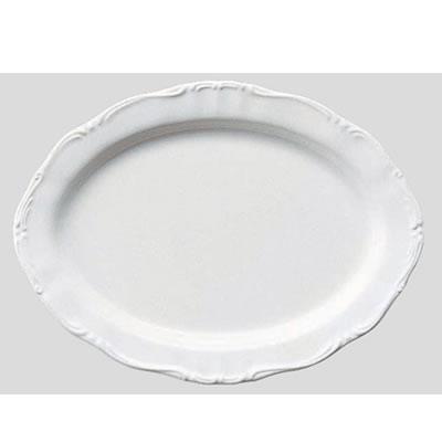 Daiwa|プラスチック食器|メラミン製|業務用食器|社員食堂|学食|飲食店 10個セット/10個以上端数注文可 プラター・中 リーフ(295×217×H26mm) (台和)[RD-12-L]