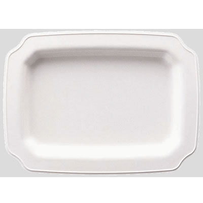 送料無料 Daiwa|プラスチック食器|メラミン製|皿|大皿|バイキング 10個セット/10個以上端数注文可 ランチプレート・小 リーフ(377×276×H32mm) (台和)[RD-15-L]