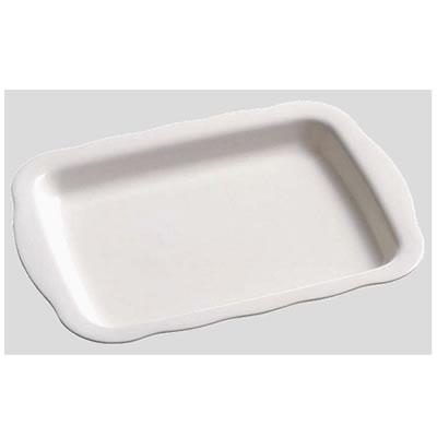 【送料無料】【Daiwa|プラスチック食器|メラミン製|業務用|皿|大皿|バイキング】【10個セット/10個以上端数注文可】デリカプレート リーフ(425×314×H40mm) (台和)[RD-18-L]