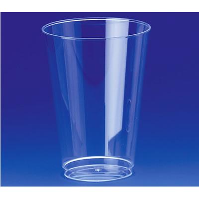 送料無料 Daiwa 使い捨てカップ コップ 容器 プラスチック イベント パーティー 入数600 ビールカップ クリア(Φ85×H117mm・430ml) (台和)[S-10]