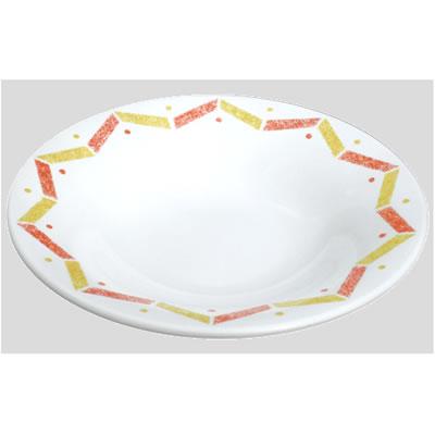 送料無料 Daiwa|プラスチック食器|メラミン製|業務用食器|皿|食堂|飲食店 10個セット/10個以上端数注文可 Fプレート(中) シャイン(Φ260×H49mm) (台和)[TK-260-SH]