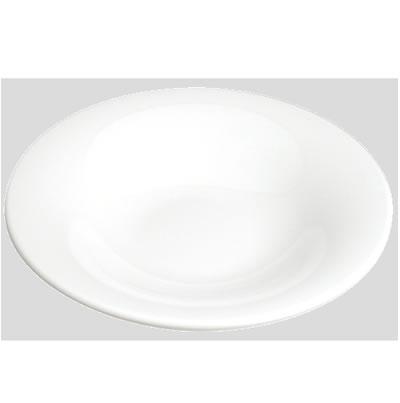 送料無料 Daiwa|プラスチック食器|メラミン製|業務用食器|皿|食堂|飲食店 10個セット/10個以上端数注文可 Fプレート(中) 白(Φ260×H49mm) (台和)[TK-260-W]