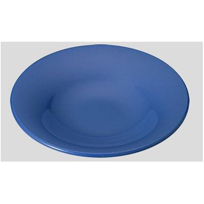 【送料無料】【Daiwa|プラスチック食器|メラミン製|業務用食器|皿|社員食堂|学食|飲食店】【10個セット/10個以上端数注文可】Fプレート ブルー(Φ280×H51mm) (台和)[TK-280-B]