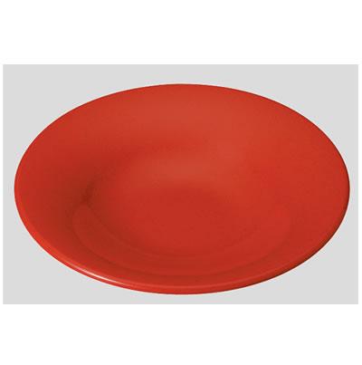 【送料無料】【Daiwa|プラスチック食器|メラミン製|業務用食器|皿|食堂|飲食店】【10個セット/10個以上端数注文可】Fプレート 赤マーブル(Φ280×H51mm) (台和)[TK-280-R]
