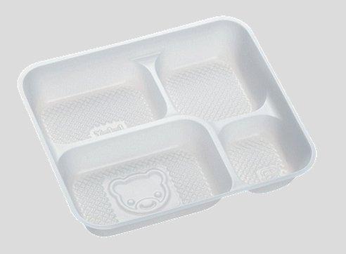 送料無料 Daiwa|弁当箱用中仕切|使い捨て|宅配容器|業務用 レインボー幼稚園弁当容器用 中仕切 (入数:3,000) (台和)[Y-1-1]