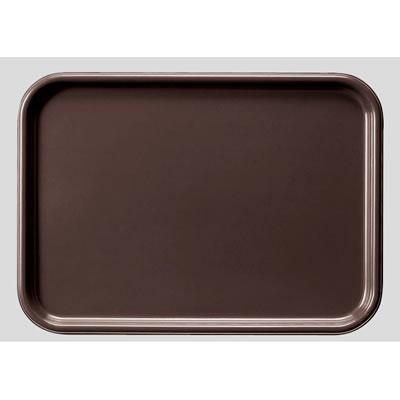 送料無料 Daiwa プラスチック製 業務用トレー 飲食店 食堂 10個セット/10個以上端数注文可 メラミン長角トレー・大 ブラウン(390×280×H19mm) (台和)[AP-13-BR]