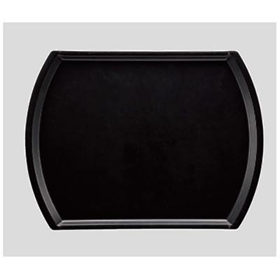 送料無料 Daiwa プラスチック製 業務用 飲食店 食堂 施設 FRP 10個セット/10個以上端数注文可 オーバルトレー ブラック(440×330×H16mm) (台和)[AP-1944-BK]