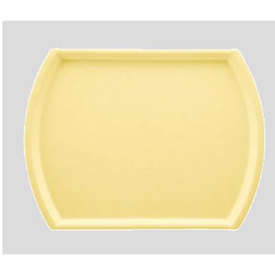 送料無料 Daiwa|プラスチック製|業務用|飲食店|食堂|施設|FRP 10個セット/10個以上端数注文可 オーバルトレー パステルイエロー(440×330×H16mm) (台和)[AP-1944-PY]