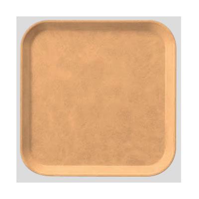 送料無料 Daiwa|プラスチック製|業務用トレー|飲食店|食堂|施設|FRPトレー 10個セット/10個以上端数注文可 正方トレー アーモンド(330×330×H20mm) (台和)[AP-330-A]