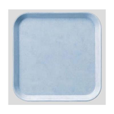 送料無料 Daiwa|プラスチック製|業務用|飲食店|食堂|施設|FRP 10個セット/10個以上端数注文可 正方トレー ライトブルー(330×330×H20mm) (台和)[AP-330-LB]
