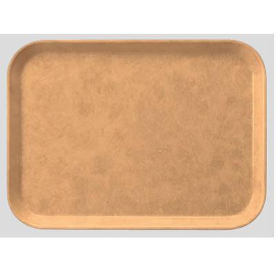 送料無料 Daiwa プラスチック製 業務用トレー 飲食店 食堂 施設 FRPトレー 10個セット/10個以上端数注文可 長角トレー アーモンド(410×302×H20mm) (台和)[AP-410-A]