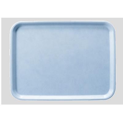 送料無料 Daiwa|プラスチック製|業務用|飲食店|食堂|施設|FRP 10個セット/10個以上端数注文可 長角トレー ライトブルー(440×330×H20mm) (台和)[AP-440-LB]