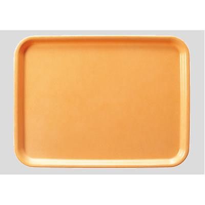 送料無料 Daiwa|プラスチック製|業務用|飲食店|食堂|施設|FRP 10個セット/10個以上端数注文可 長角トレー ライトオレンジ(440×330×H20mm) (台和)[AP-440-LO]