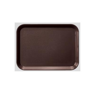 Daiwa|プラスチック製|業務用トレー|飲食店|カフェ|食堂 PPトレー 10個セット/10個以上端数注文可 長角トレー・小 ブラウン(437×325×H20mm) (台和)[DP-30-BR]