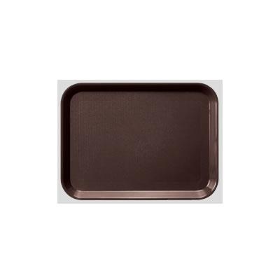送料無料 Daiwa|プラスチック製トレー|飲食店|食堂 10個セット/10個以上端数注文可 長角トレー・大 ブラウン(455×350×H20mm) (台和)[DP-81-BR]