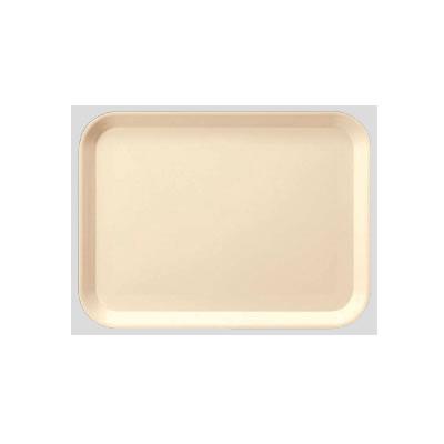 送料無料 Daiwa プラスチック製トレー 飲食店 食堂 10個セット/10個以上端数注文可 長角トレー・大 アイボリー(455×350×H20mm) (台和)[DP-81-IV]